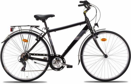 "Montana Fahrräder Trekkingrad »28"" BLUECITY 925M«, 7 Gang Shimano TY-300 Schaltwerk, Kettenschaltung"