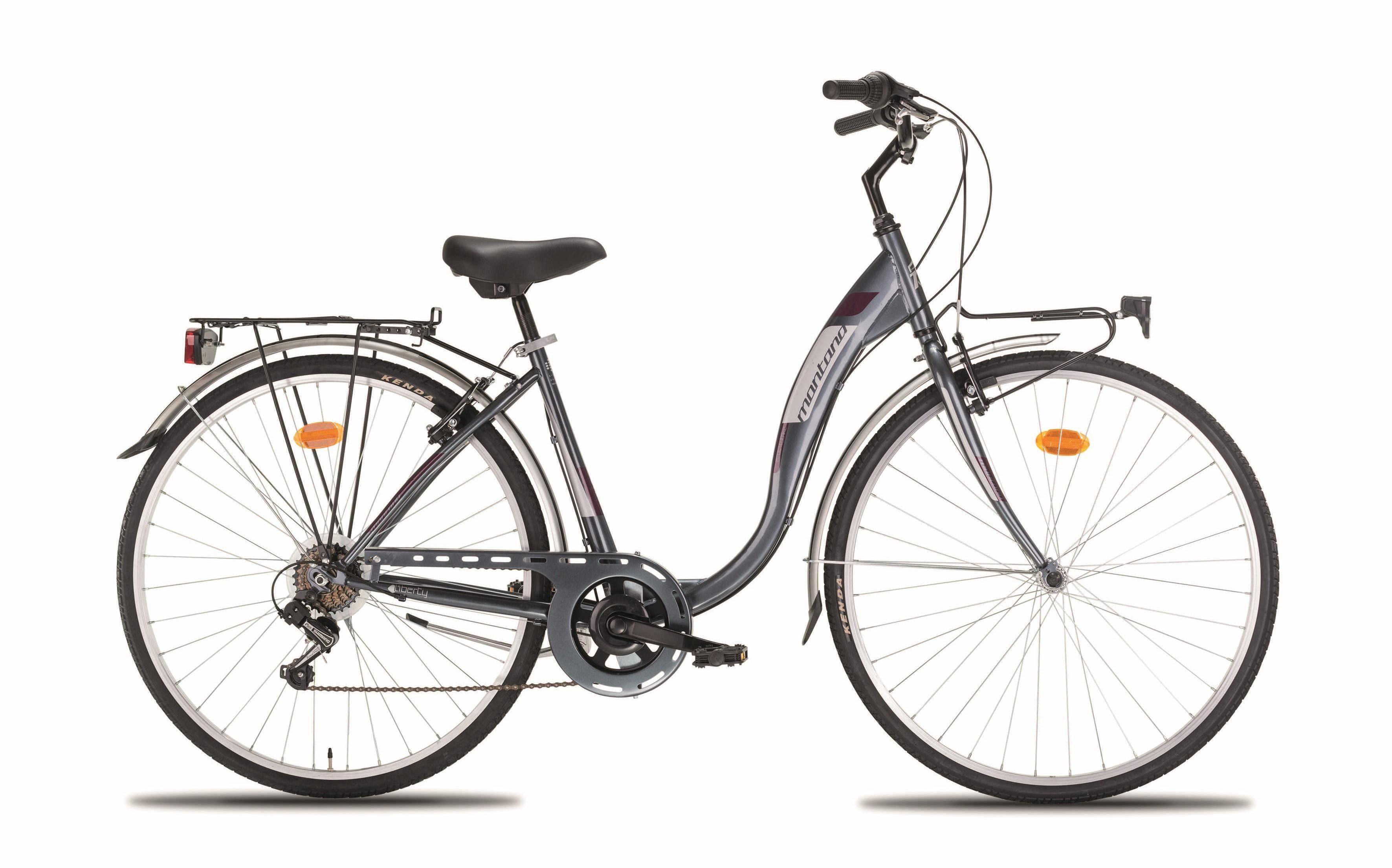 """Montana Fahrräder Cityrad »28"""" LIBERTY«, 7 Gang Shimano TY-21 Schaltwerk, Kettenschaltung"""