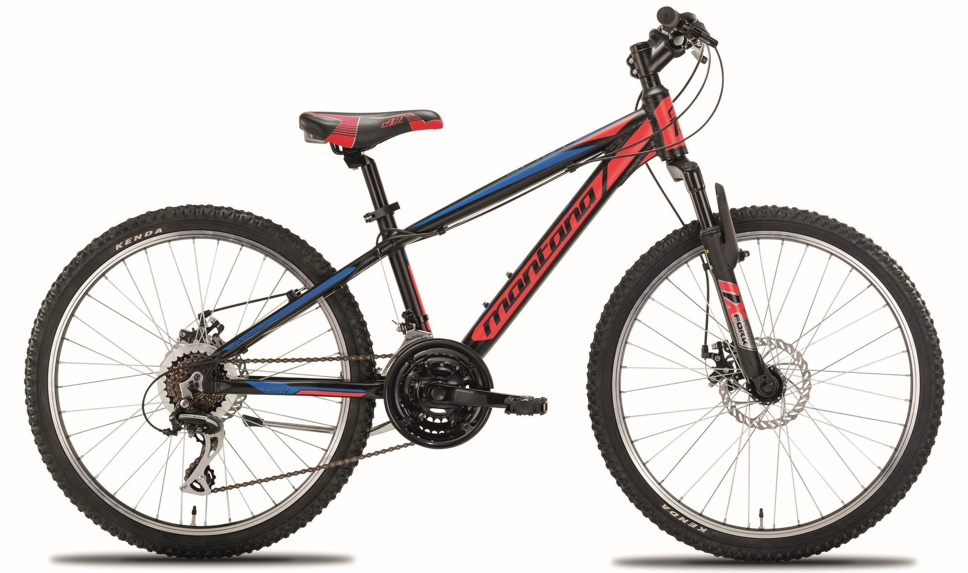 "Montana Fahrräder Mountainbike »24"" SPIDY«, 21 Gang Shimano Acera M360 Schaltwerk, Kettenschaltung"