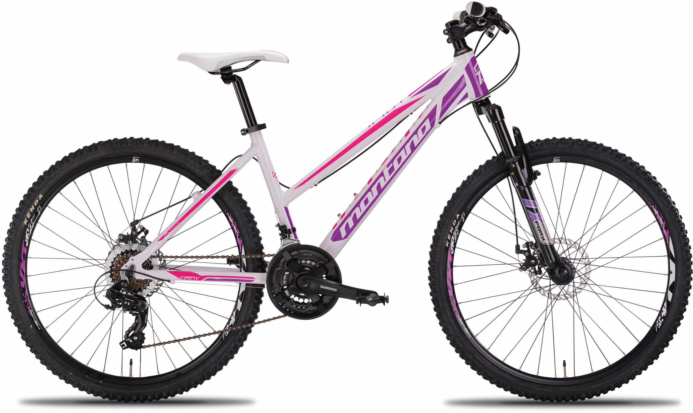 "Montana Fahrräder Mountainbike »26"" SPIDY«, 21 Gang Shimano TY-300 Schaltwerk, Kettenschaltung"