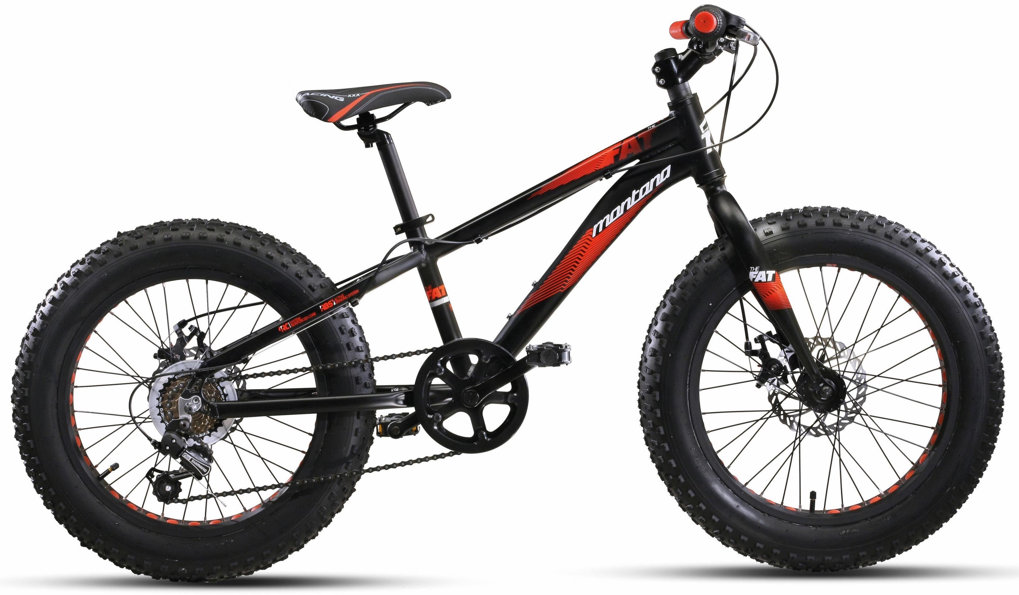 """Montana Fahrräder Fatbike »20"""" FAT«, 6 Gang Shimano TY-21 Schaltwerk, Kettenschaltung"""
