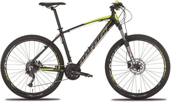 "Montana Fahrräder Mountainbike »27,5"" URANO 271D«, 27 Gang Shimano Alivio Schaltwerk, Kettenschaltung"