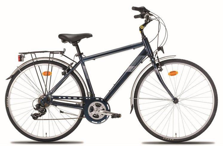 "Montana Fahrräder Trekkingrad »28"" BLUECITY 926M«, 21 Gang Shimano TY-300 Schaltwerk, Kettenschaltung"
