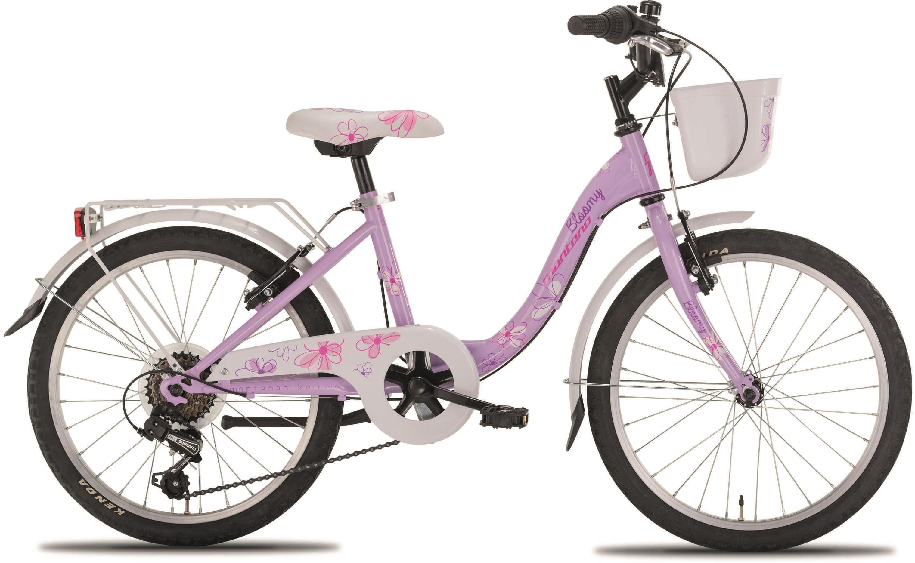 "Montana Fahrräder Cityrad »20"" BLOOMY«, 6 Gang Shimano TY-21 Schaltwerk, Kettenschaltung"