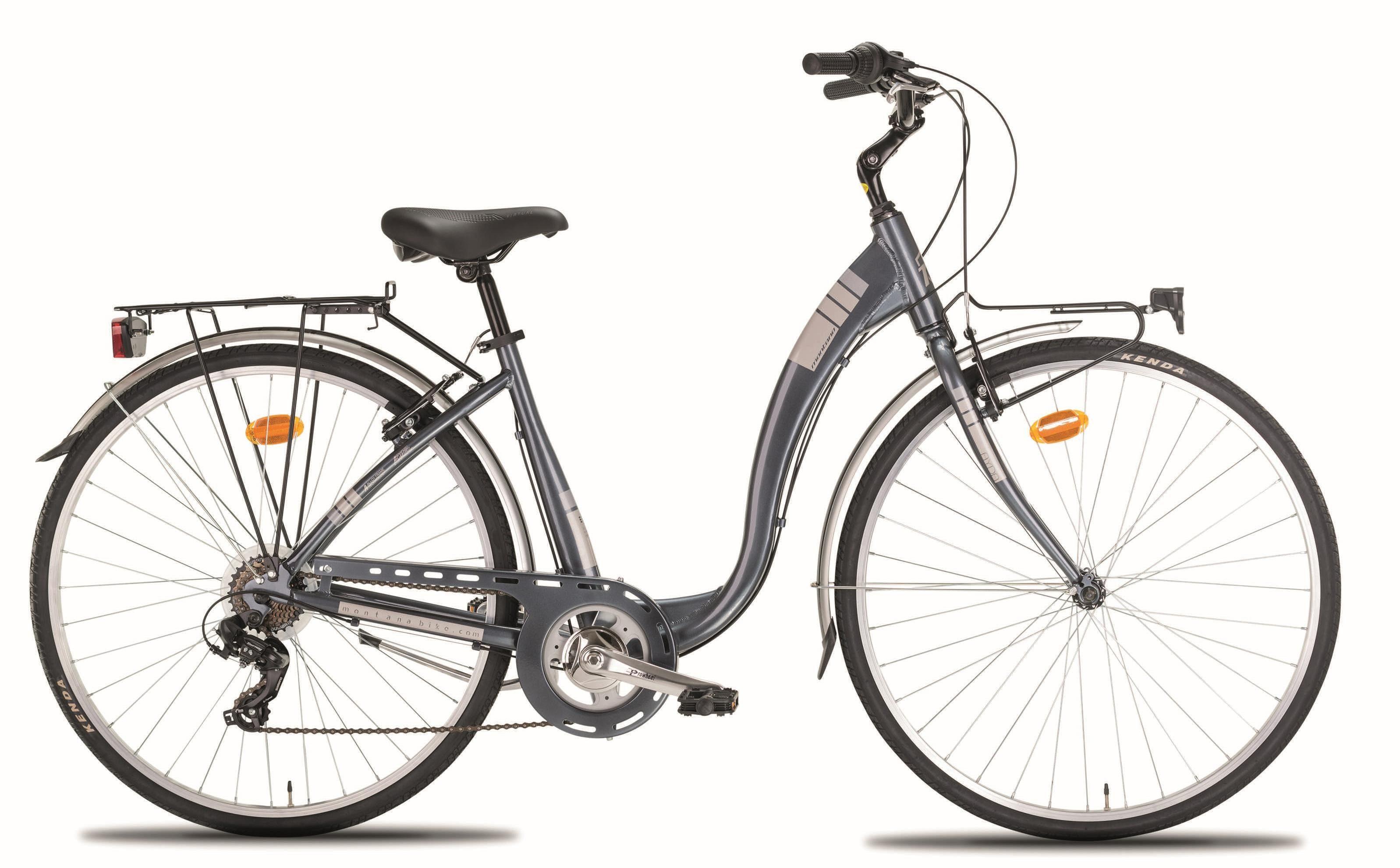 """Montana Fahrräder Cityrad »28"""" AYDA«, 7 Gang Shimano TY-300 Schaltwerk, Kettenschaltung"""