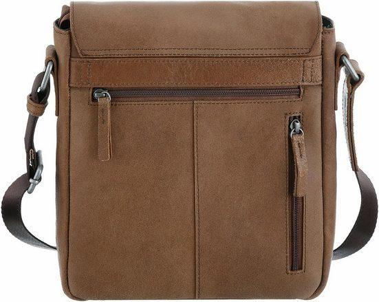 CARGO Umhängetasche mit 10-Zoll Tabletfach, Cargo 503, cognac, S