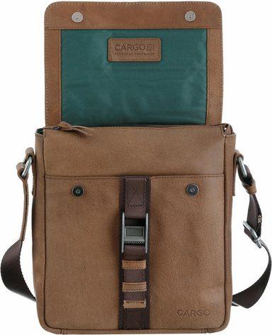 Umhängetasche Cargo 10 »cargo 503 Mit Cognac zoll S« Tabletfach qCCSxzdw