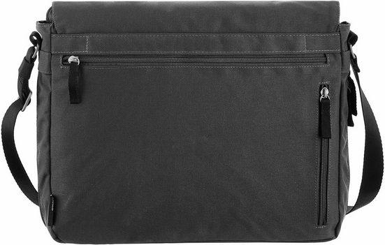 Sac À Bandoulière Cargo Avec Compartiment Pour Ordinateur Portable De 13 Pouces, Cargo 101, Noir, L