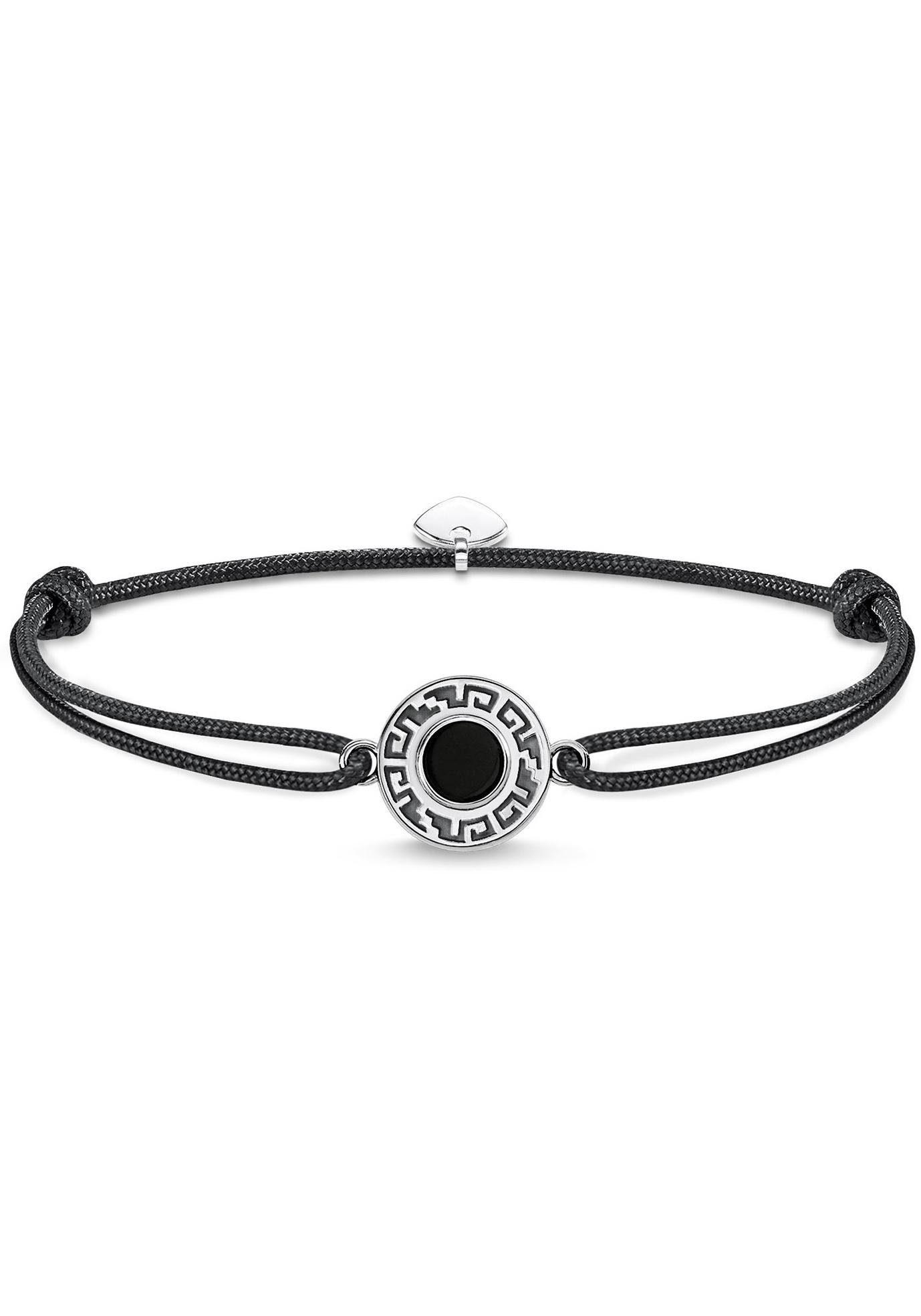 THOMAS SABO Armband »Little Secret Ornament Schwarz, LS060-505-11-L22v« mit Achat