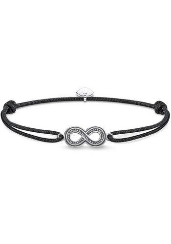 Herren THOMAS SABO Armband Little Secret Infinity LS058-907-11-L22v schwarz | 04051245376500