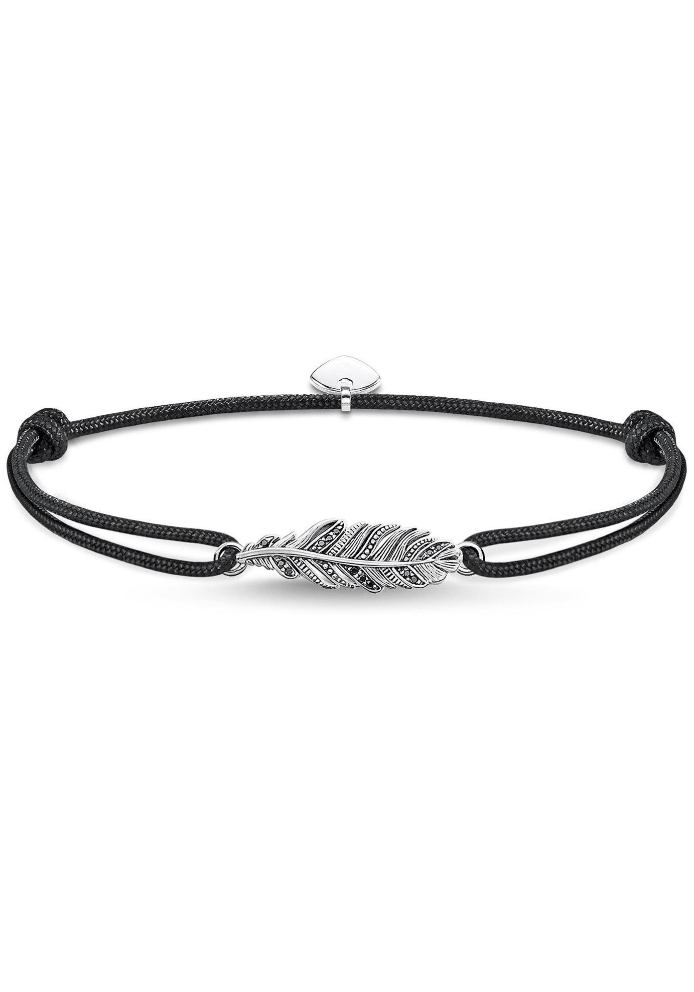THOMAS SABO Armband »Little Secret Feder, LS063-889-11-L22v« mit Zirkonia