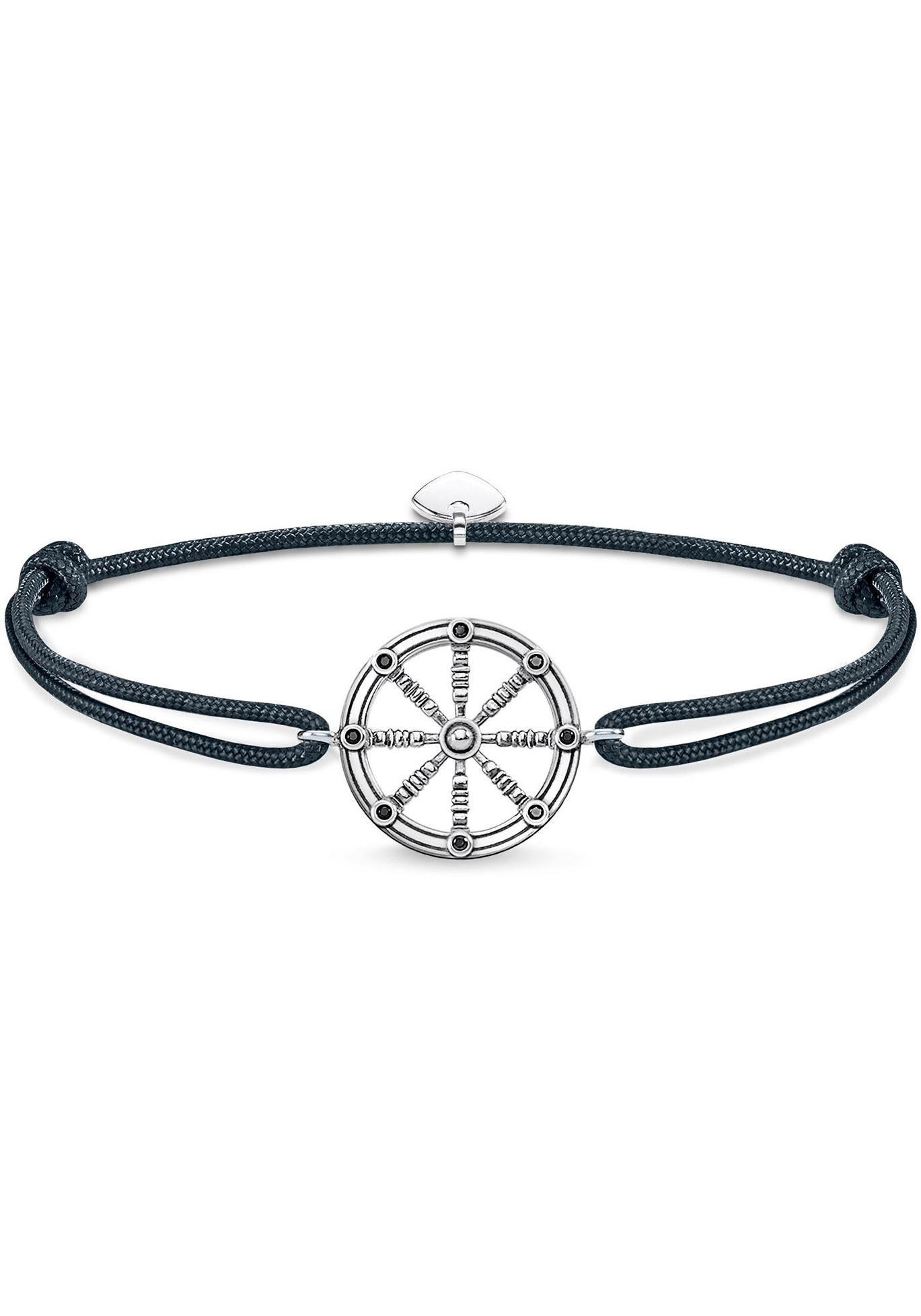 THOMAS SABO Armband »Little Secret Karma Wheel, LS064-889-5-L22v«, mit Zirkonia