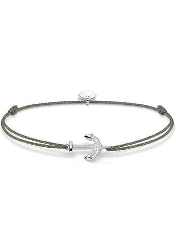 Herren THOMAS SABO Armband Little Secret Anker LS053-401-5-L20v mit Zirkonia grau | 04051245376456