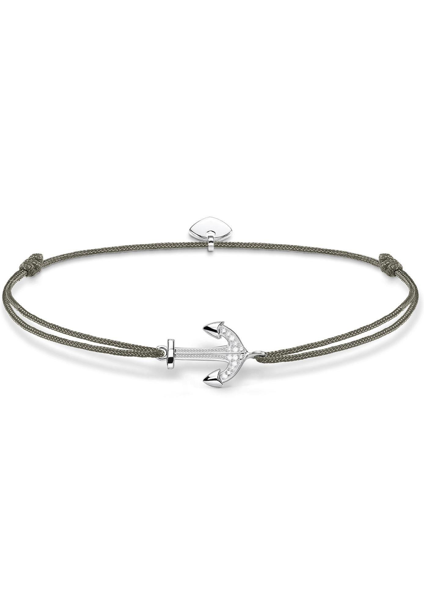 THOMAS SABO Armband »Little Secret Anker, LS053-401-5-L20v« mit Zirkonia