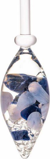 VitaJuwel Mineralstein »Edelsteinphiole Balance«, Sodalith - Chalcedon - Bergkristall