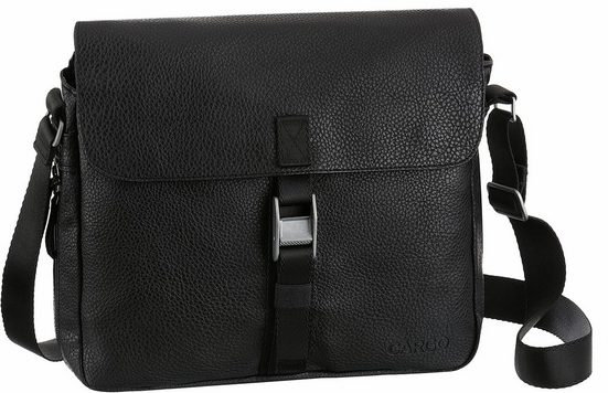 CARGO Businesstasche mit 10-Zoll Laptopfach, Cargo 302, schwarz, M