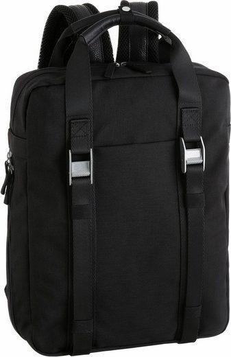 CARGO Rucksack mit 15-Zoll Laptopfach, »Cargo 101, schwarz, 11,2 l«