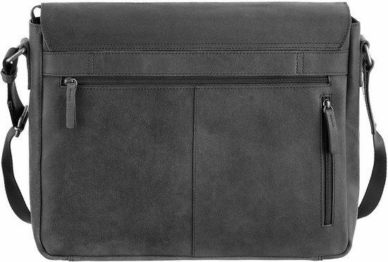CARGO Umhängetasche mit 13-Zoll Laptopfach, Cargo 503, elephant, L