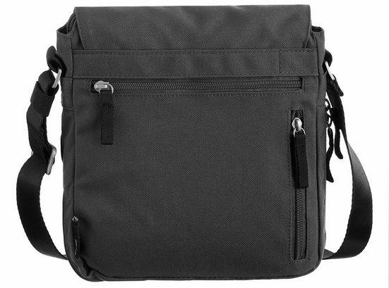 CARGO Umhängetasche mit 8-Zoll Tabletfach, Cargo 101, schwarz, S