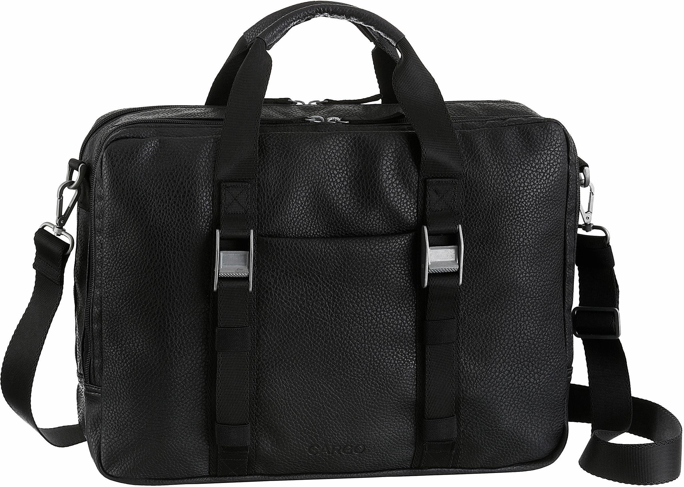 CARGO Businesstasche mit 13-Zoll Laptopfach, »Cargo 302, schwarz, 2 Fächer«