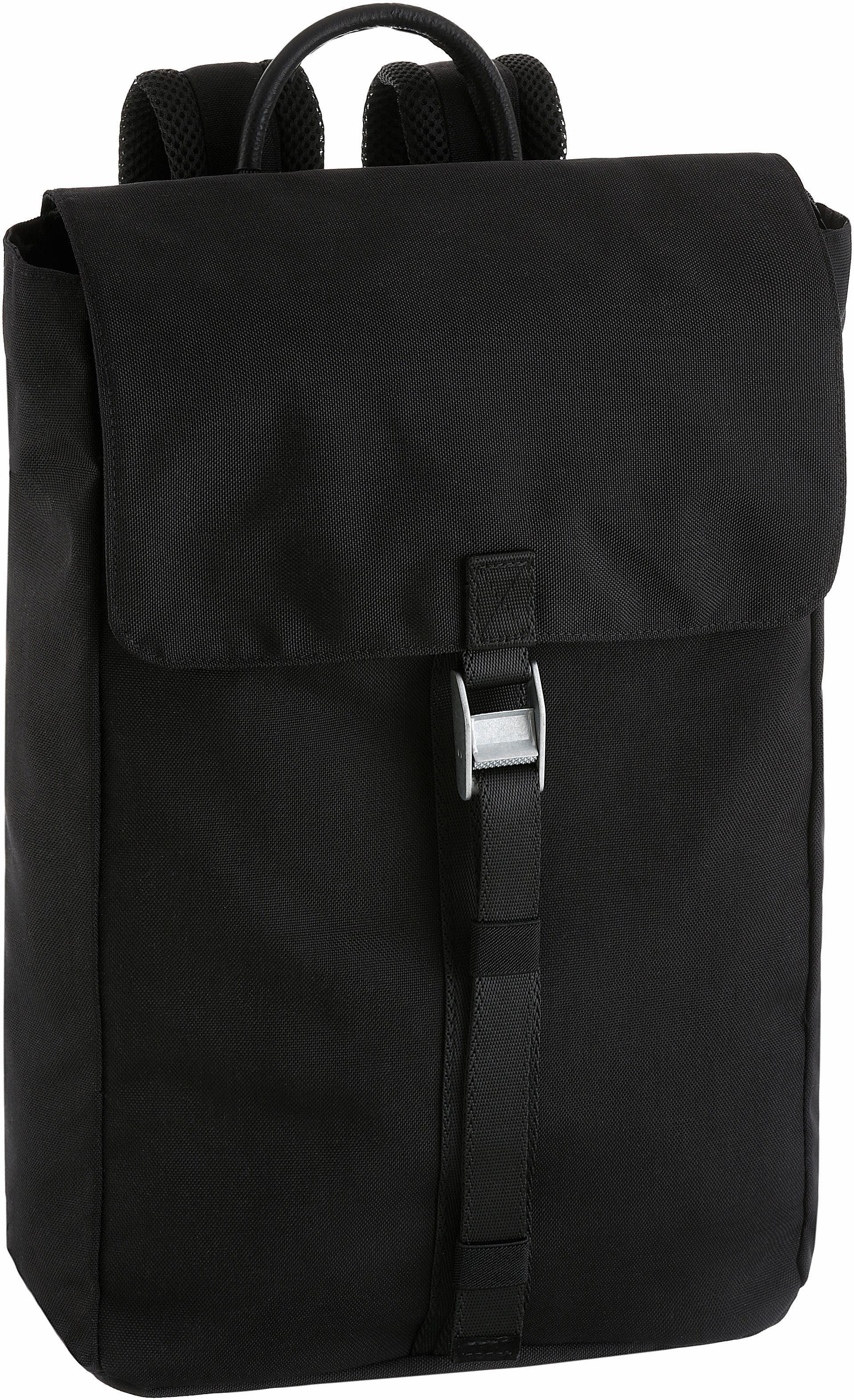 CARGO Rucksack mit 15-Zoll Laptopfach, »Cargo 101, schwarz, mit Verschlussklappe«