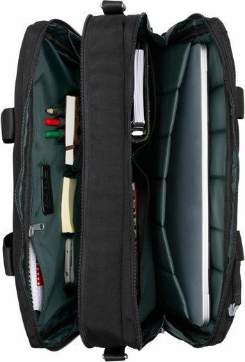 Laptopfach Cargo 13 2 »cargo Businesstasche Schwarz Mit Fächer« zoll 101 7IxwfIZr