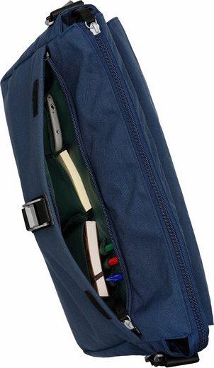 CARGO Umhängetasche mit 13-Zoll Laptopfach, Cargo 101, blau, L