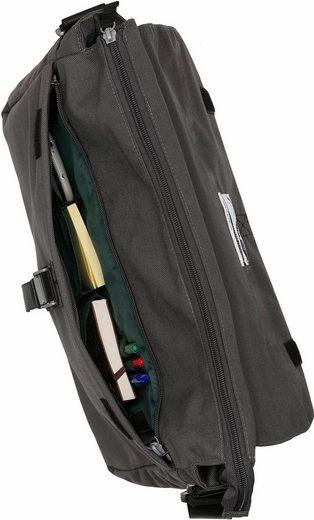 CARGO Umhängetasche mit 13-Zoll Laptopfach, Cargo 101, grau, L