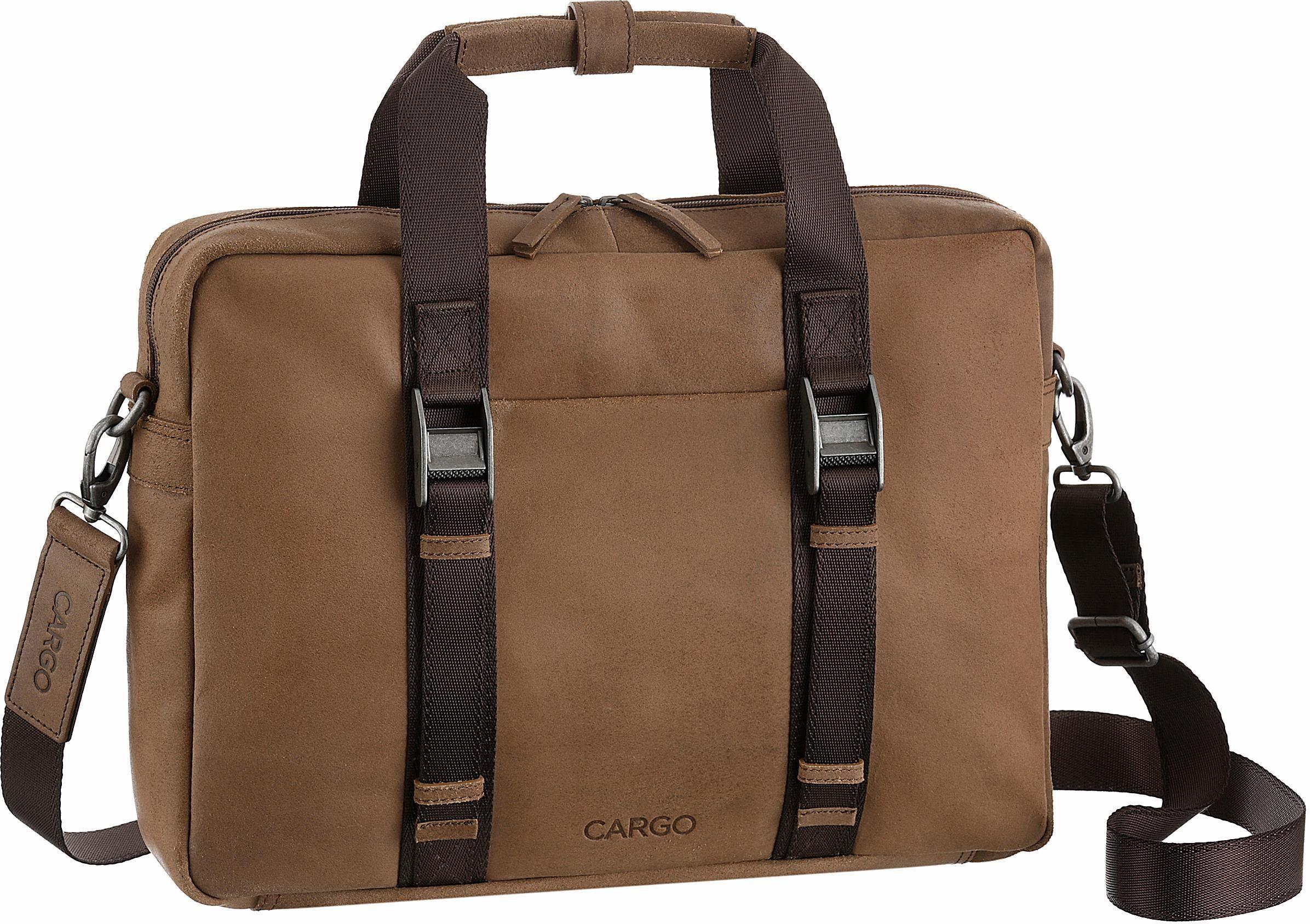 CARGO Businesstasche mit 13-Zoll Laptopfach, »Cargo 503, cognac«