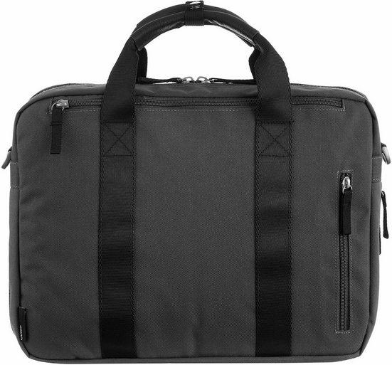 CARGO Businesstasche mit 13 Laptopfach, Cargo 302, schwarz mit Struktur, 1 Fach