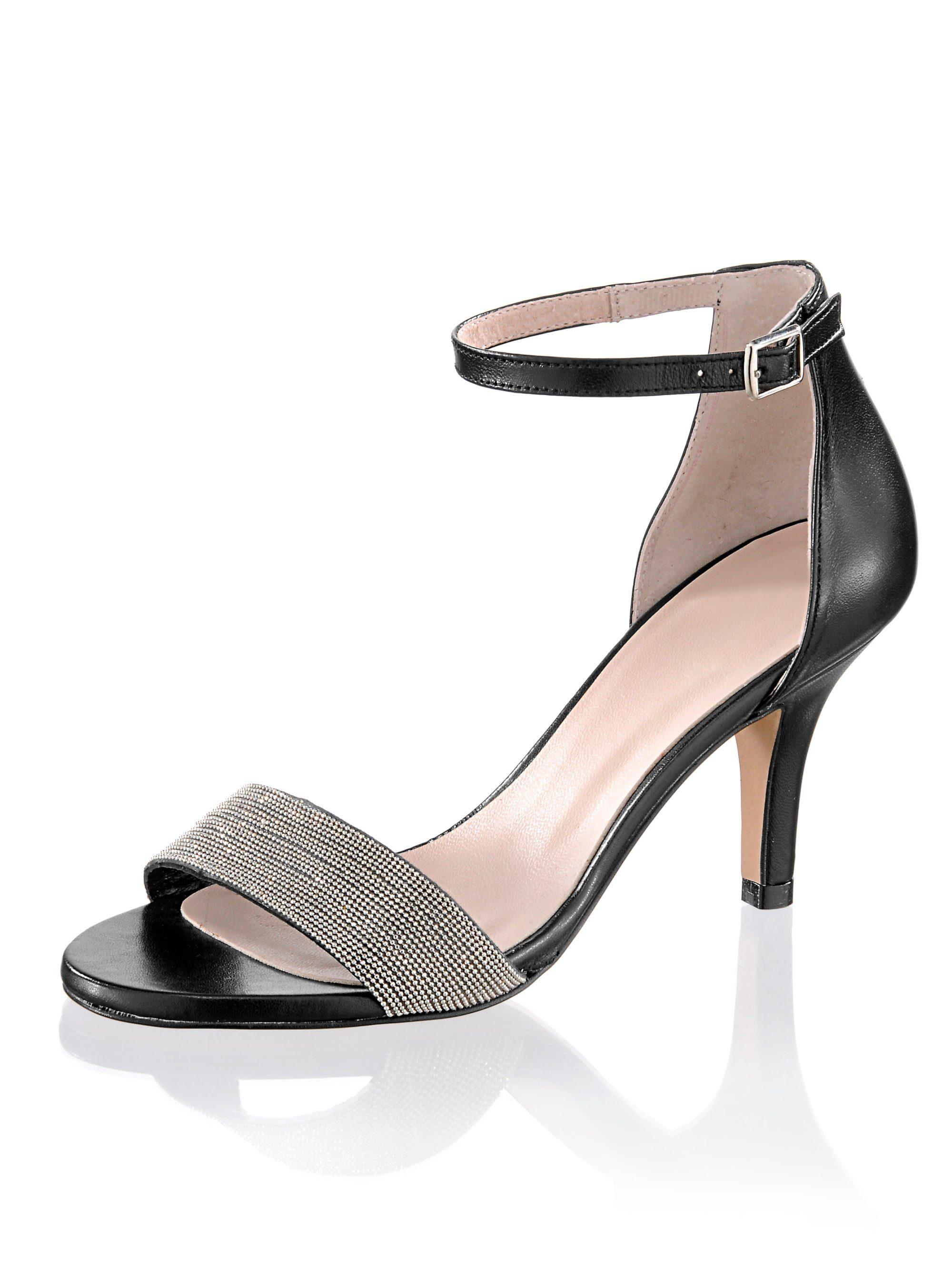 Alba Moda Sandalette im sommerlichen Style, Geschlossener, leicht hochgezogener Fersenbereich online kaufen | OTTO