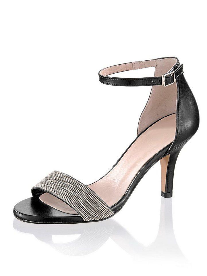 31c55e341451 Alba Moda Sandalette im sommerlichen Style, Geschlossener, leicht  hochgezogener Fersenbereich online kaufen | OTTO
