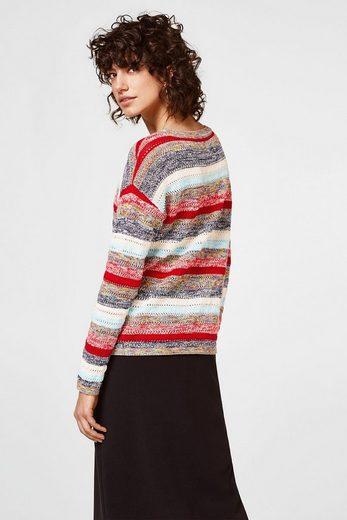 EDC BY ESPRIT Luftiger Pullover, 100% Baumwolle