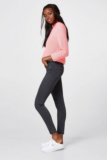 Esprit Washed Stretch Pants With Decor-bund