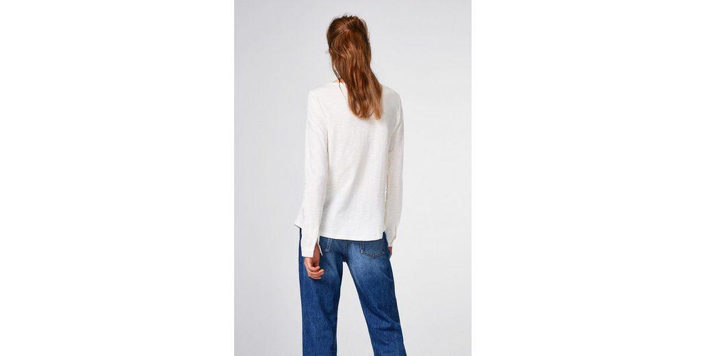 EDC BY ESPRIT Rüschen-Shirt aus 100% Baumwolle Günstig Kaufen Sammlungen Verkauf Wie Viel 100% Authentisch Günstig Online Günstig Kaufen Freies Verschiffen Händler Online kzlYLFef