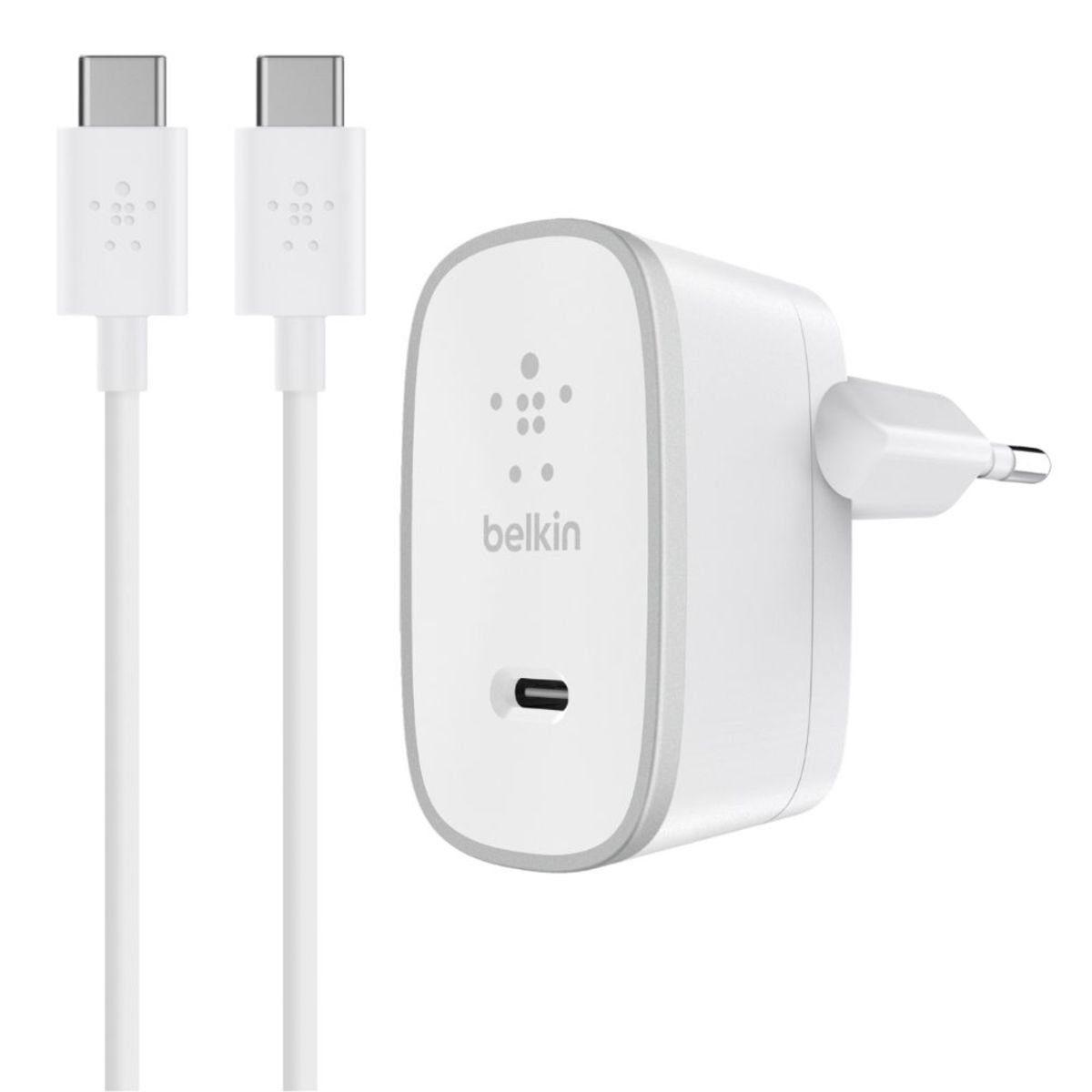 Belkin Lader »USB-C Netzlladegerät inkl. 1.5m USB-C Kabel«