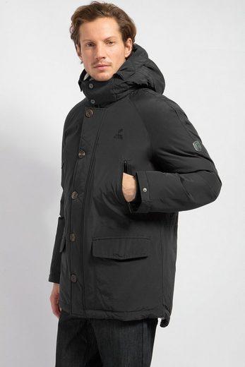 Finn Flare Daunenjacke mit leicht verlängertem Rücken