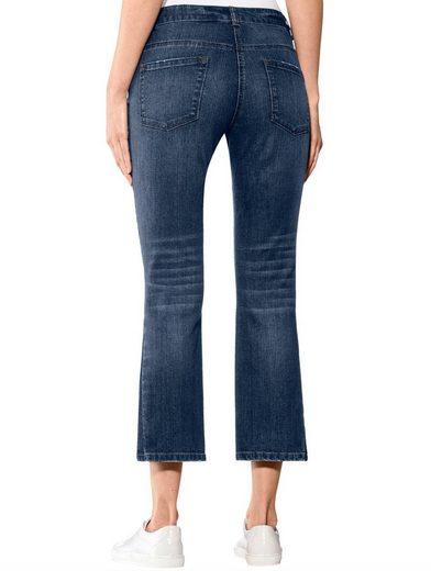Alba Moda Bootcut Jeans Avec Des Pantalons Wedge Dans Un Lavage À La Mode