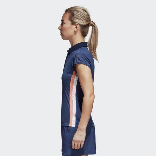 adidas Performance Sporttop 3-Streifen Club Poloshirt