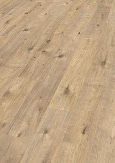 EGGER Laminat »Achensee Eiche«, 7mm, 2,494m², authentische Holzoptik, universell einsetzbar