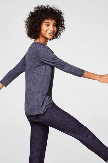 ESPRIT Lässiges Basic-Shirt aus Organic Cotton