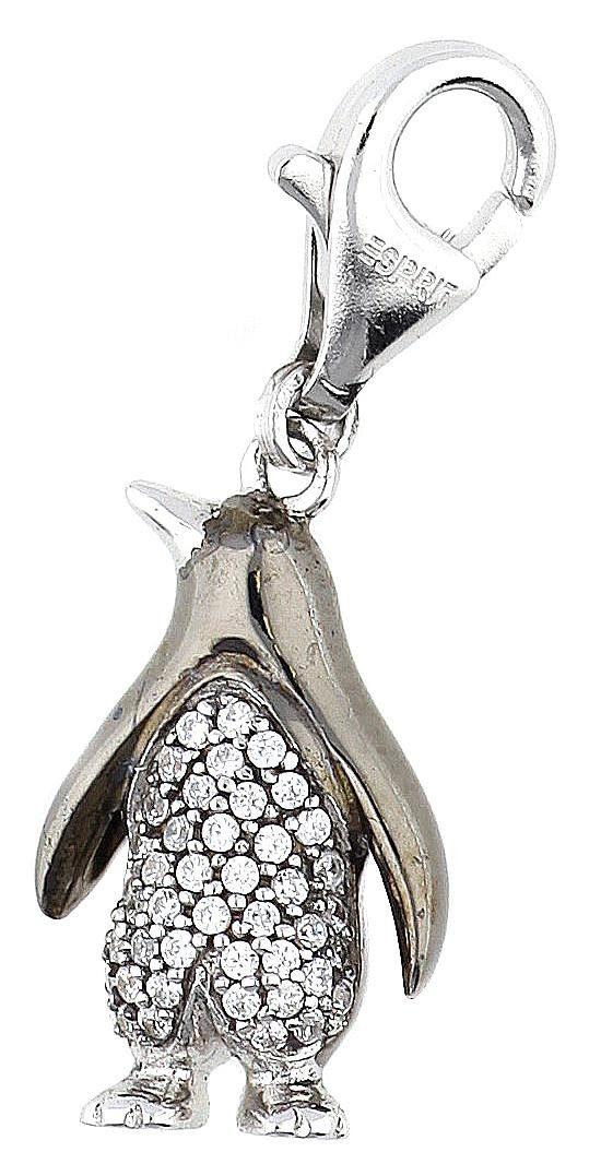 Esprit Charm-Einhänger »Penguin Sparkle ESCH91061A000«