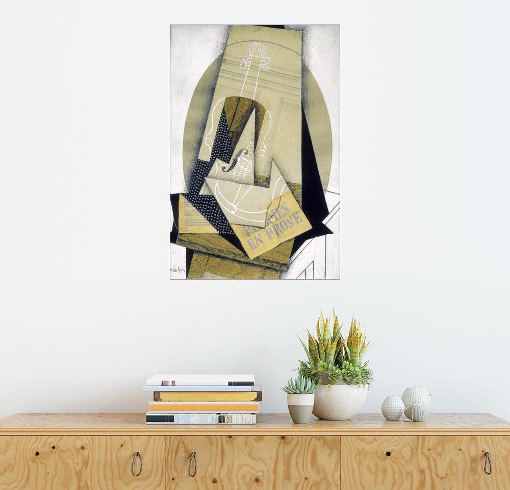 Posterlounge Wandbild - Juan Gris »Komposition mit Violine«