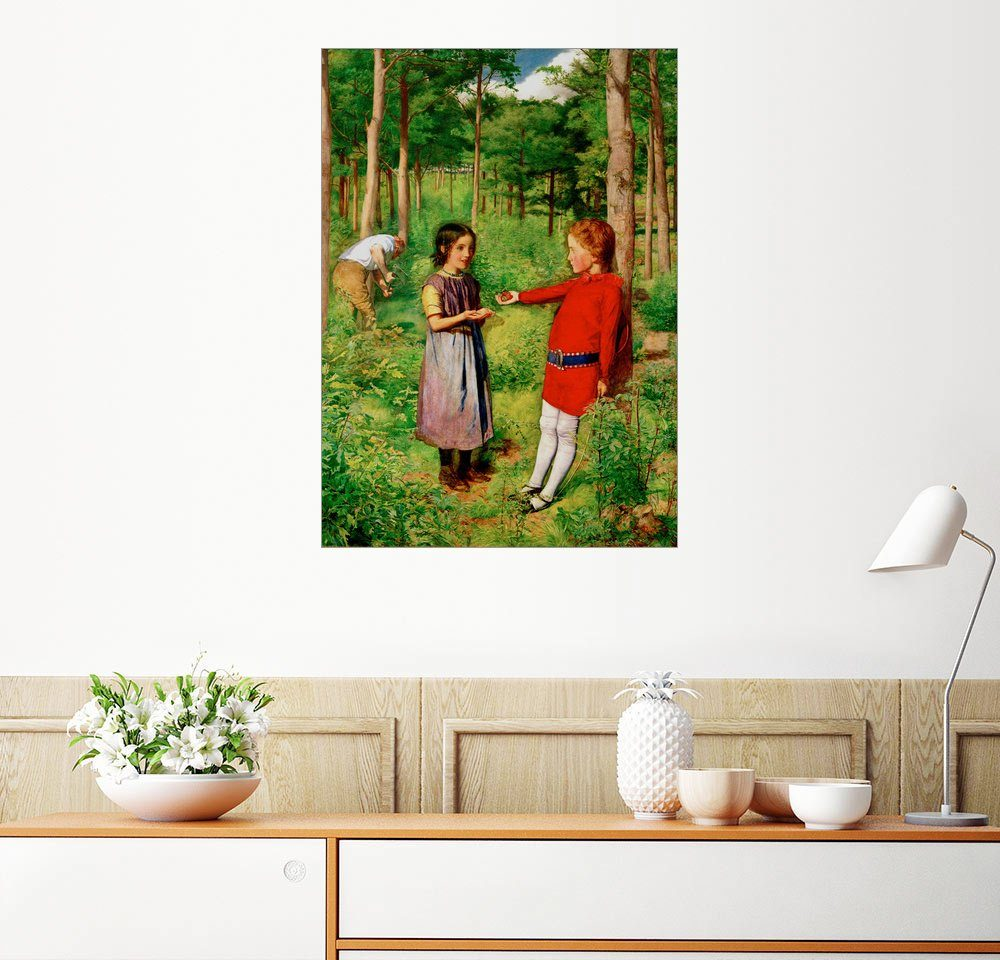 Posterlounge Wandbild - Sir John Everett Millais »Die Tochter des Försters«