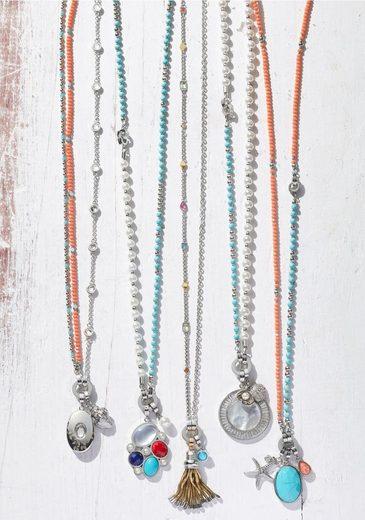LEONARDO Charm-Einhänger »Coco Darlin's, 017986«, mit imit. Perle