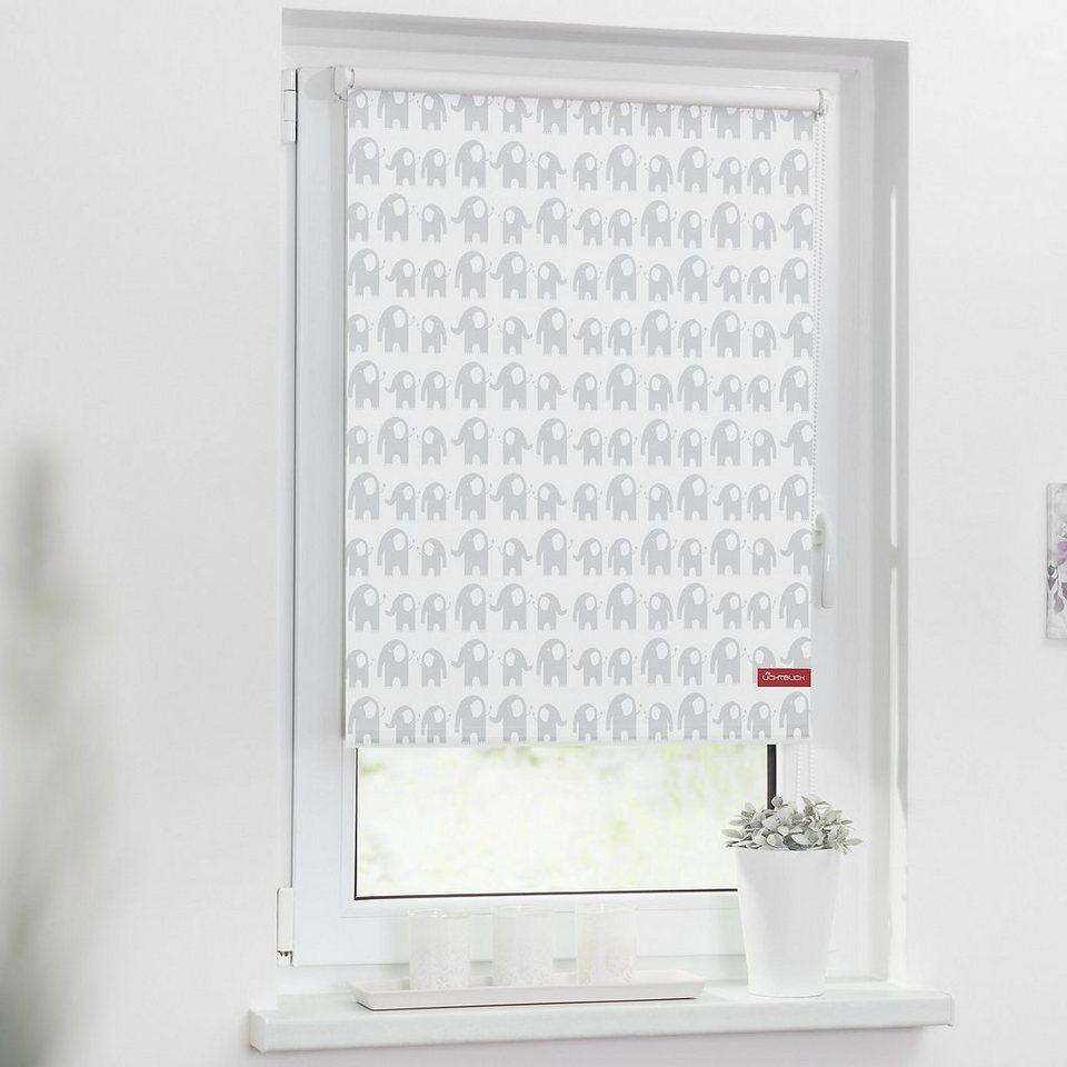 lichtblick rollo klemmfix ohne bohren verdunkelung elefanten online kaufen otto. Black Bedroom Furniture Sets. Home Design Ideas