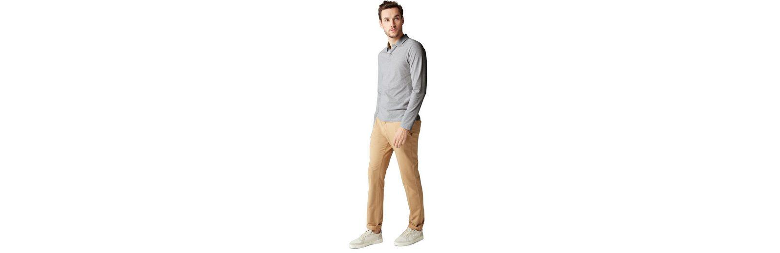 Marc O'Polo Langarm-Poloshirt Steckdose Billig Authentisch bNXuCHE