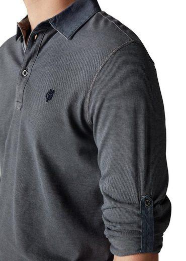 Marc O'Polo Langarm-Poloshirt