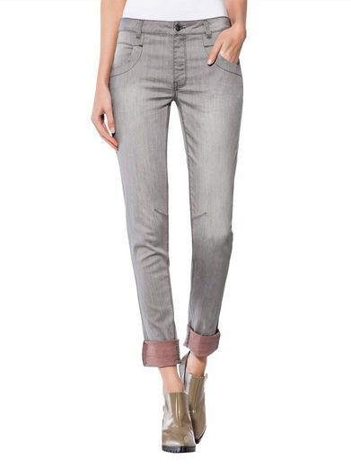 Alba Moda Jeans With Contrasting Color Inside