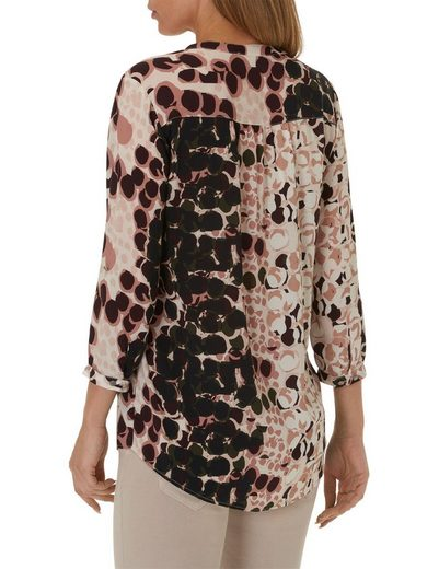 Cartoon Casual Blouse In Trendy Allover Pattern